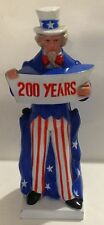 1975 ALL STATES MANAGEMENT CORP PLASTIC UNCLE SAM 200 YEARS BANK - HONG KONG