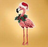 Mill Hill - Winter Holiday - Holiday Flamingo - Cross Stitch Kit - MH18-1935