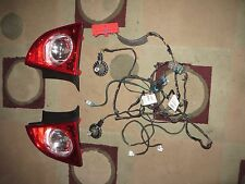 USED 2008-2012 CHEVY MALIBU LTZ LED TAILLIGHTS, HARNESS, AND BULBS