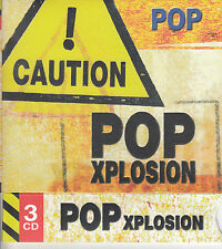 Sampler: Pop Explosion (3CD) 80's mit Blondie, Killing Joke, ABC, Adam Ant NEU!!
