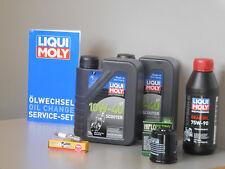 Sistema de mantenimiento APRILIA Atlántico 300 Filtro de aceite bujía Inspección
