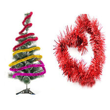 Xmas Tree Ornament Decoration Home Party Holiday Christmas Ribbon Garland Decor