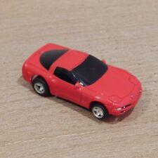 HO SLOT CAR Life-Like Red Corvette