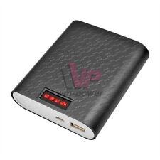 12000mAh Battery Black Case 4X18650 Batteries USB Power Bank Shell For Phone