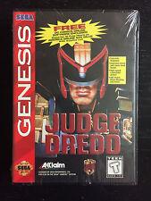 NEW SEALED Judge Dredd Sega Genesis Video Game Sega System NES VGA SNES N64