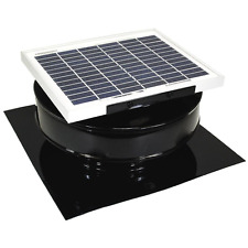 Exhaust Fan Attic Solar Powered Roof Mounted Roof Vent Ventilator 365 CFM