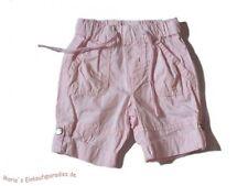 H&M Hose Mädchen Sommer dünne Hose krempelbar rosa Gr.62
