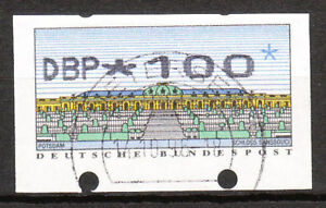 BRD 1998 Automaten-Freimarke 100er Gestempelt (A103)