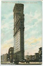 1908 TIMES SQUARE NEW YORK CITY, NY POSTCARD Times Building Broadway & 42nd