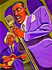 BILLY ECKSTINE PRINT poster jazz tiny grimes guitar band orchestra mr. b cd
