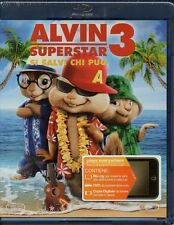 ALVIN SUPERSTAR 3 - SI SALVI CHI PUO' - BLU-RAY + DVD + DIG. COPY (NUOVO SIG)