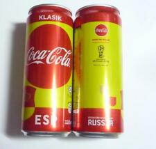 COCA COLA Coke Can MALAYSIA 330ml FIFA World Cup RUSSIA Collect 2018 SPAIN
