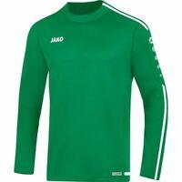 Jako Fußball Sweat Shirt Striker 2.0 Herren Sport Pullover grün weiß