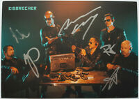 ⭐⭐⭐⭐ EISBRECHER ⭐⭐⭐ Orig. Autogramm Alexander Wesselsky⭐⭐⭐ Autogrammkarte ⭐⭐⭐⭐