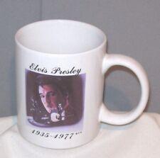 Elvis Presley 1935-1977 Pictured Ceramic Porcelain Mug Cup