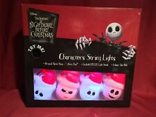 Disney Nightmare Before Christmas SANTA JACK SKELLINGTON MUSICAL STRING LIGHTS