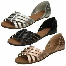 Spot on Women's Casual Synthetic Strappy Sandals & Beach Shoes