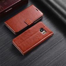 For Samsung S7 S8 J3/J5/J7 2017 Durable Leather Wallet Magnetic Flip Case Cover