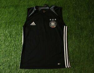 GERMANY TEAM 2004/2005 RARE FOOTBALL VEST SHIRT JERSEY TRAINING ADIDAS ORIGINAL