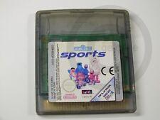 !!! gameboy color juego Sésamo Street Sports, usado pero aceptar!!!