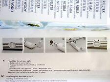 2 Refrigerador De Agua Filtro Reemplaza Kitchenaid WPRO 4812 817 19243 SBS004 SBS002