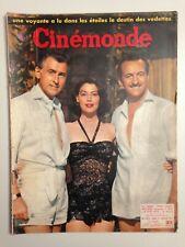 CINEMONDE N°1172 1957 COUV AVA GARDNER STEWART GRANGER DAVID NIVEN