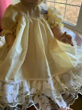 "Handmade Dress, Bloomers and Hat Set for 18"" Vintage Tiny Tears Doll"