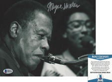 WAYNE SHORTER JAZZ SAXOPHONE ICON SIGNED AUTHENTIC 8x10 PHOTO 2 BECKETT BAS COA