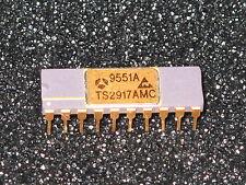 1x THOMSON SEMICONDUCTORS TS2917AMC 9551A Gold Cap IC RAR !
