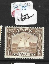 ADEN (PP1309B) DHOW, BOAT SG9  1R   MOG