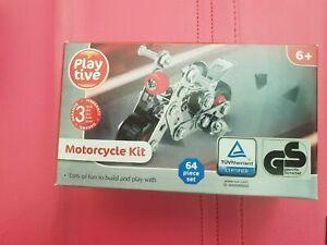 Motorcycle Kit - Playtive Building Vehicle Kit 6+ Building Toys - EsmeLilly