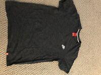 Nike SPTCAS Men's T-Shirt Heather Blue Navy Obsidian 100% Cotton 905404 473 Sz M