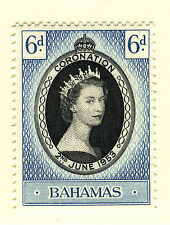 Elizabeth II (1952-Now) Single Bahamian Stamps (Pre-1973)