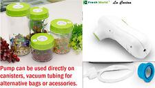 Vacuum sealer food Containers pump Preservation Food Sealer Canisters LA CUCINA