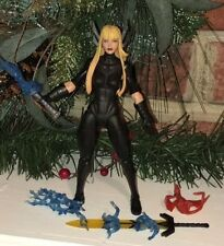 EEG! Custom Marvel Legends Magik Adult Sized Body All Black Skintight Suit