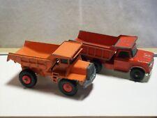 Classic Lesney Matchbox Original '75' Series Dump Trucks Two (2) Trucks