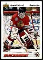 1991-92 Upper Deck Dominik Hasek Rookie #325