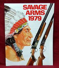 "1979 Savage Arms Co. Retailer's Catalog. 8 1/2"" x 11"" , NOS"
