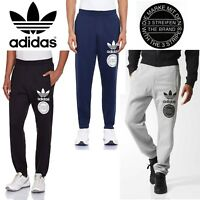 Adidas Originals Men's Trefoil Graphic Street Tracksuit Pants Sports Trousers