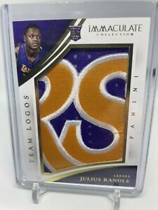 Julius Randle 14-15 Immaculate RC Rookie Patch Team logos /10