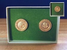 President Jimmy Carter Presidential Seal VIP Cufflinks & Lapel Pin - White House