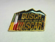 Busch The Official Beer Of Nascar Hat Cap Pin racing