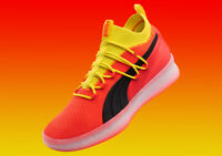 Puma CLYDE COURT Disrupt Red/Yellow/Black/Orange Basketball 191715 02 Mens