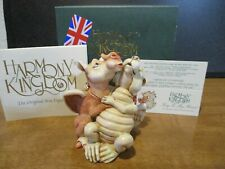 New ListingHarmony Kingdom Key to My Heart Dragons Romance Annual Uk Made Box Figurine