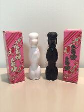 Vintage Avon Dog Poodle Cologne Bottles