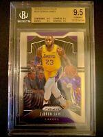 2019-20 Panini Prizm #129 LeBron James Lakers BGS Gem Mint PSA 10?