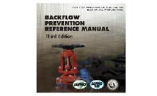 Backflow Reference Manual 3rd Edition by IAPMO