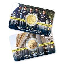 Coincard 2 euros BELGIQUE 2017 flamand - 200 ans de l'Université de Ghent - UNC