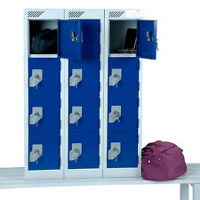 Personal Effects Lockers - Sitable For Customers And Staff