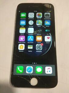 Apple iPhone 6 - 64 Go -  Argent - dans l'état non testé